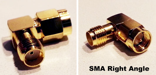 SMA Right Angle Antenna Adapter