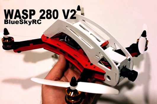WASP 280 V2 Mini FPV Quad Frame